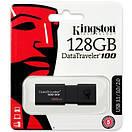 USB флеш накопитель Kingston 128GB DT100 G3 Black USB 3.0 (DT100G3/128GB), фото 6