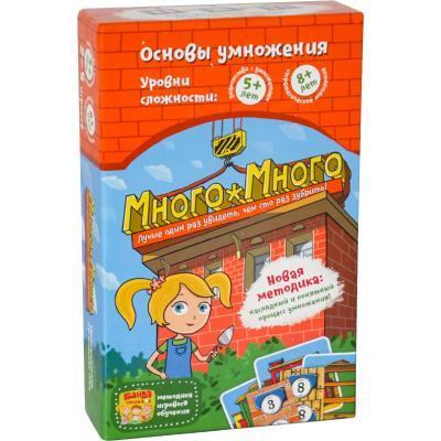 Настольная игра Банда Умников Много-Много (УКР006)