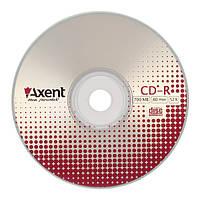 Axent CD-R 700MB / 80min 52X, 100 шт, масса 8101-A