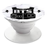 Попсокет (Popsockets) держатель для смартфона группы BTS (БТС)  (8754-1096)