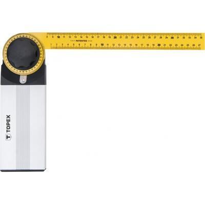 Угломер Topex разводной, 500 x 240 мм (30C345)