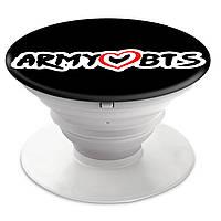 Попсокет (Popsockets) держатель для смартфона группы BTS (БТС)  (8754-1100)
