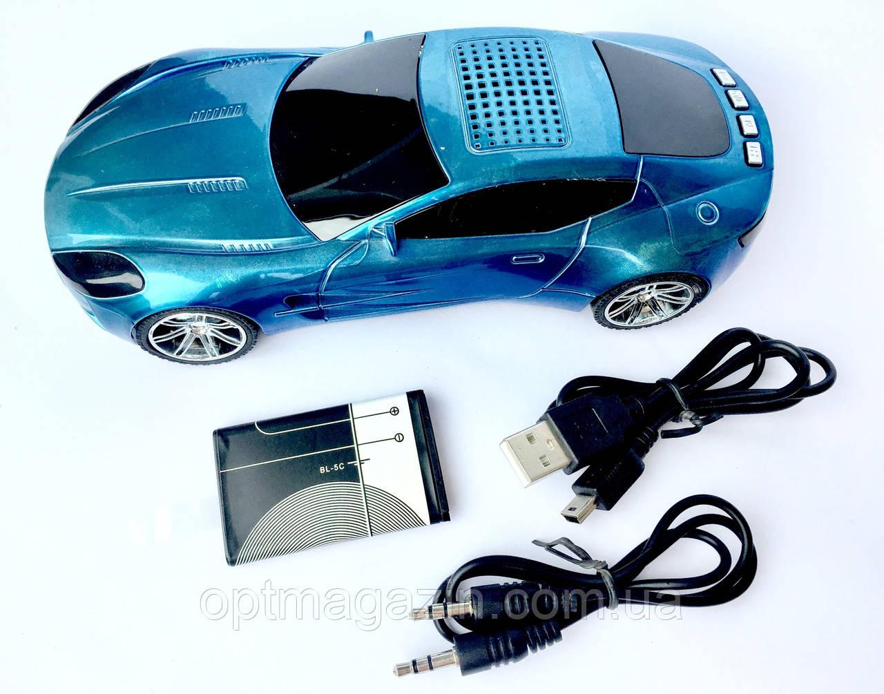 Машинка-колонка YC-999 TF/USB/FM RADIO