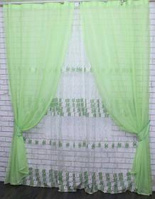 Готовые комплекты шторы + тюль