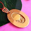 Золота ладанка Казанська Богородиця - Золотий кулон Богородиці, фото 2