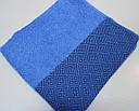 Полотенце махровое 50*90 см синее, фото 3