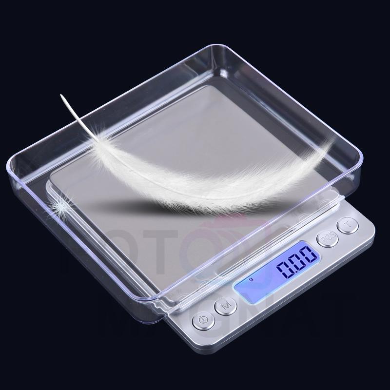 Весы Ювелирные 6295A 500г (0.01) + 2 чаши — Электронные весы