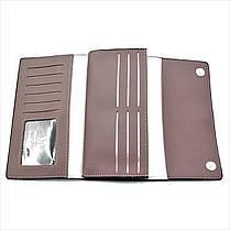 Женский кошелек Le-Mon 2685-1-darkpink Темно-розовый, фото 2