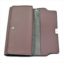 Женский кошелек Le-Mon 2685-1-darkpink Темно-розовый, фото 3