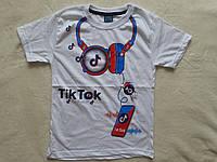 Стильная футболка для мальчика Tik Tok 7 -8лет