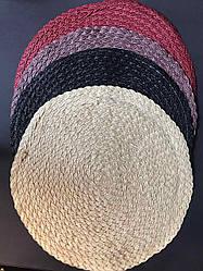 Подтарельник, сервірувальний килимок під тарілки і прилади В'язь 38 см