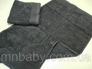 Полотенце махровое 50*90 см серое