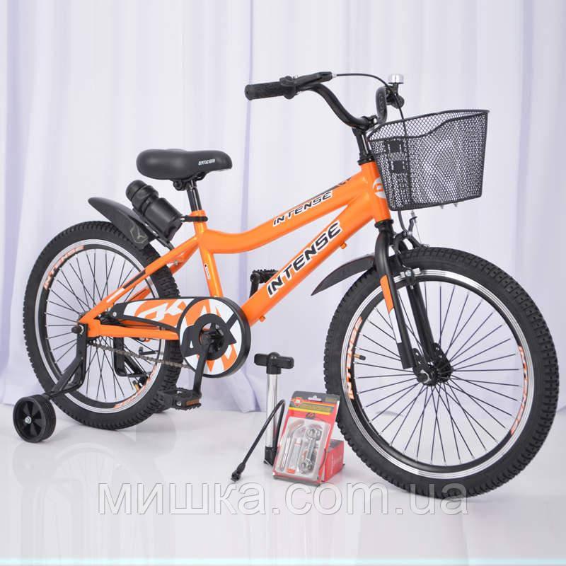 """Велосипед INTENSE 20"""" N-200 Оранжевый Sigma"""