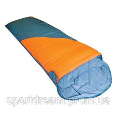 Спальний мішок Tramp Fluff помаранчевий / сірий  R TRS-037-R