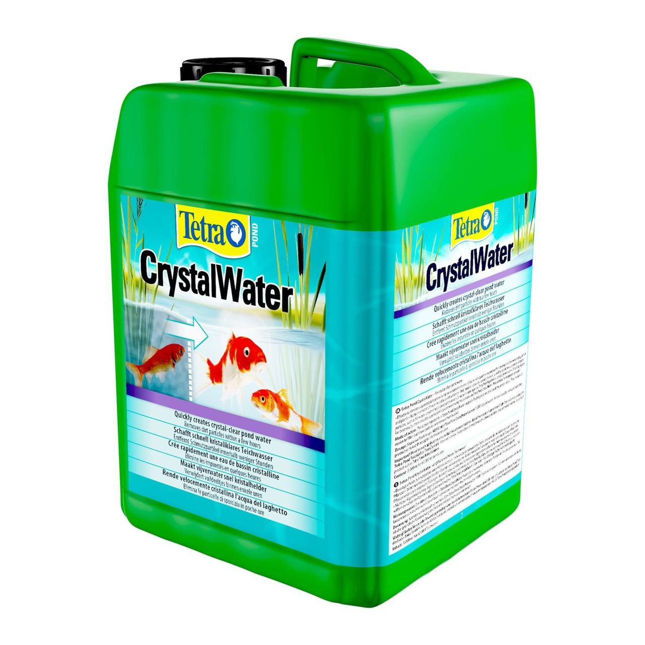 Tetra Pond Crystal Water 232617 средство для очищения прудовой воды  плавающих частиц, 3 л