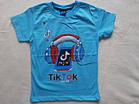 Стильная футболка для мальчика Tik Tok 3-4 года