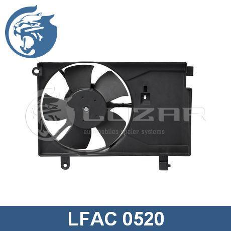 Вентилятор охлаждения кондиционера Авео (02-) Luzar 96536520