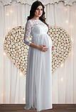 Белое платье для беременных на роспись, фото 6