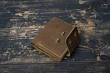 Мужской кожаный кошелек Woodward, фото 3