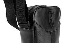 Мужская кожаная сумка через плечо Puma Formula, фото 3
