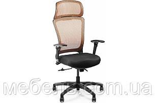 Офисный стул Barsky BS-04 Style Brown, сетка, фото 2