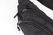 Поясная сумка SOLT черная, фото 2