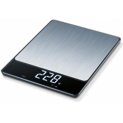 Весы кухонные BEURER KS 34 Stainless Steel (4211125703127)