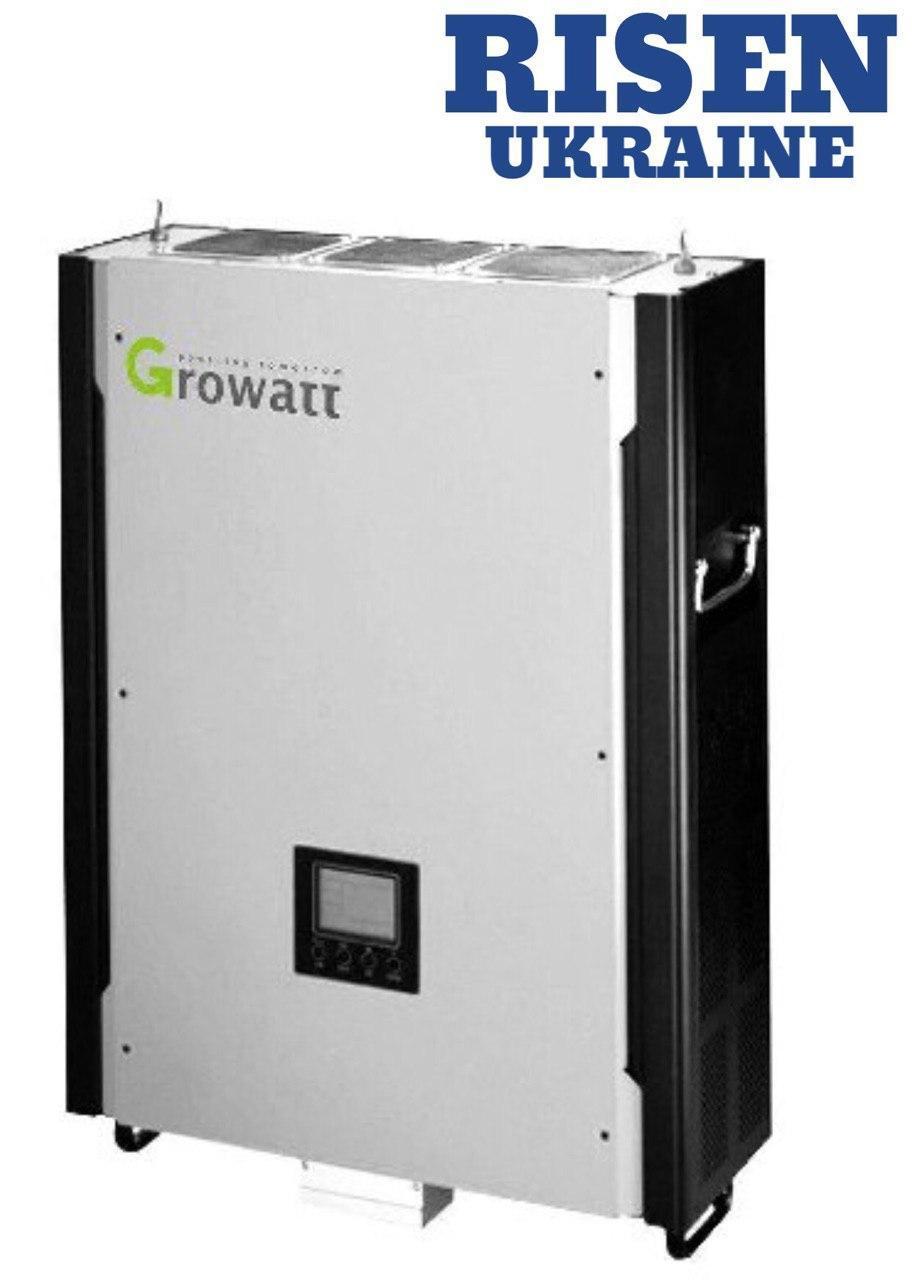Гібридний мережевий інвертор Growatt Hybrid 10KW (10кВт 3 фази 2 шт. MPPT)