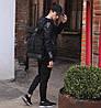 Рюкзак мужской спортивный городской черный, мужской рюкзак городской для ноутбука,рюкзак роллтоп черный EVOLVE, фото 5