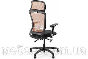 Офисное сеточное кресло Barsky BS-04 Style Brown, фото 3