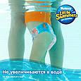Трусики для плавання Huggies Little Swimmers 2-3 (3-8кг), 12шт, фото 3