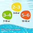 Трусики для плавання Huggies Little Swimmers 2-3 (3-8кг), 12шт, фото 6