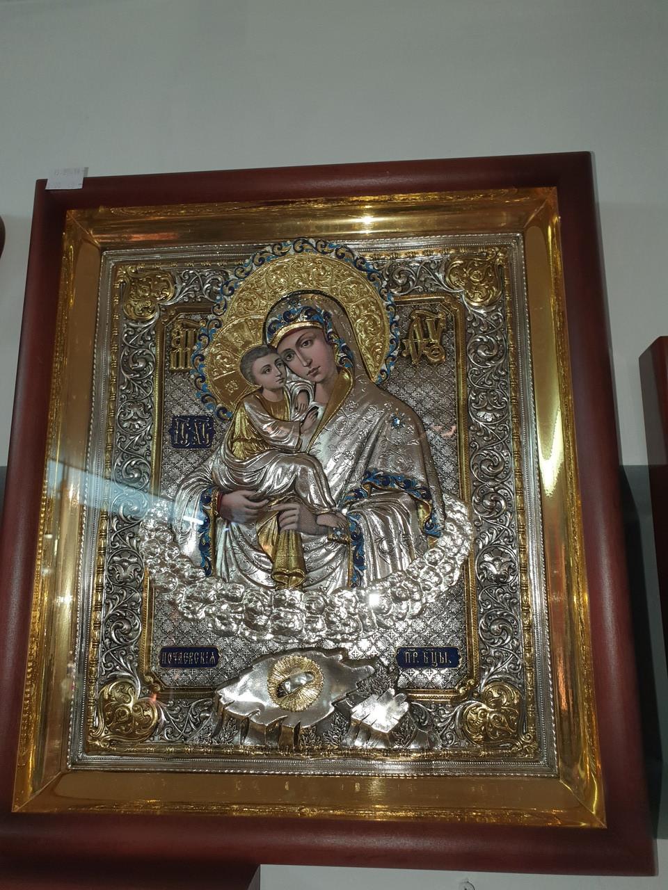 Икона Почаевская Богородица
