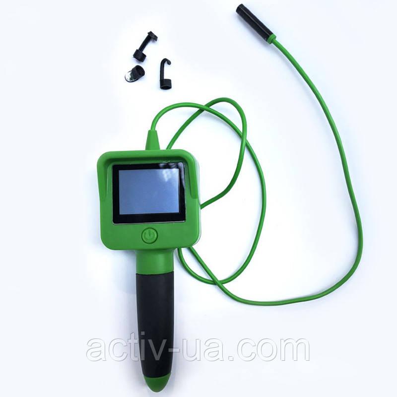 Эндоскоп технический Cam Eagle Eye AV919 с ЖК-дисплеем, длина кабеля 1,2 метра, диаметр 8мм, IP67