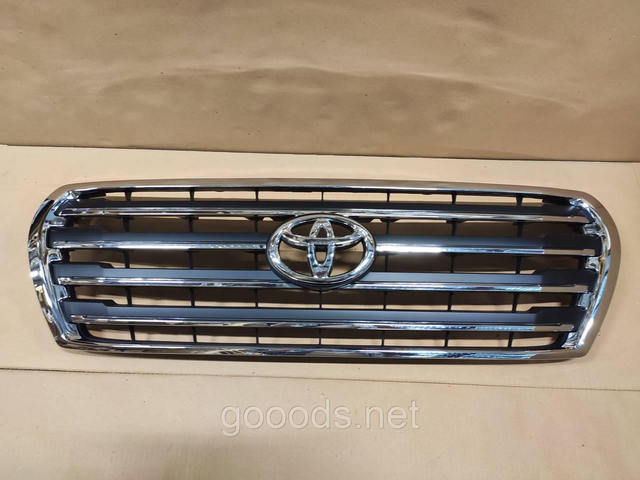 Решетка радиатора Toyota LC 200 2007-2015 в стиле Brownstone