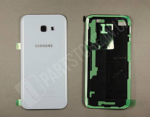 Крышка Samsung A520 Blue A5 2017 (GH82-13645C) сервисный оригинал, фото 2