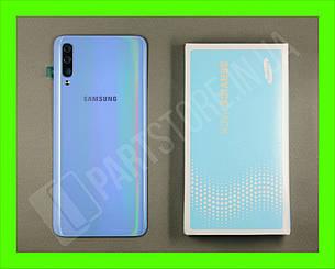 Cервисная оригинальная задняя Крышка Samsung A705 Blue A70 2019 (GH82-19664C), фото 2