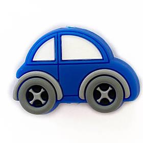 Машинка МИНИ.КАР (темно-синий)силиконовая бусина