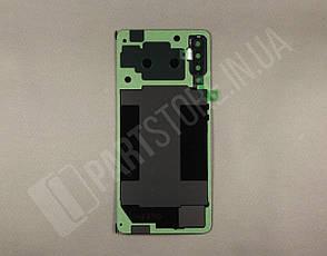Крышка Samsung A750 Black A7 2018 (GH82-18103A) сервисный оригинал, фото 2