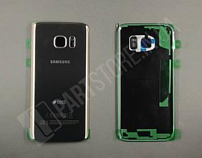 Cервисная оригинальная задняя Крышка Samsung G930 Gold S7 (GH82-11514C), фото 2