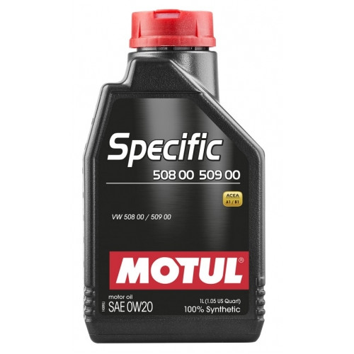 Моторное масло MOTUL Specific 508 00 509 00 SAE 0W20 (1L)