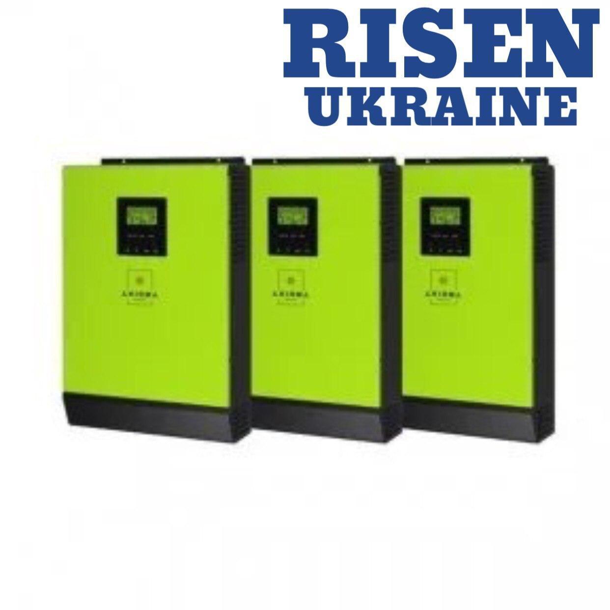 Інвертори гібридні 12кВт AXIOMA energy - ISGRID 4000 3 шт по 4кВт