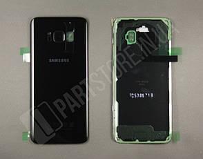 Крышка Samsung G950 Black S8 (GH82-13981A) сервисный оригинал, фото 2