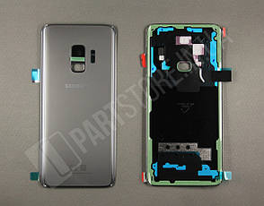Крышка Samsung G960 Grey S9 (GH82-15926C) сервисный оригинал, фото 2