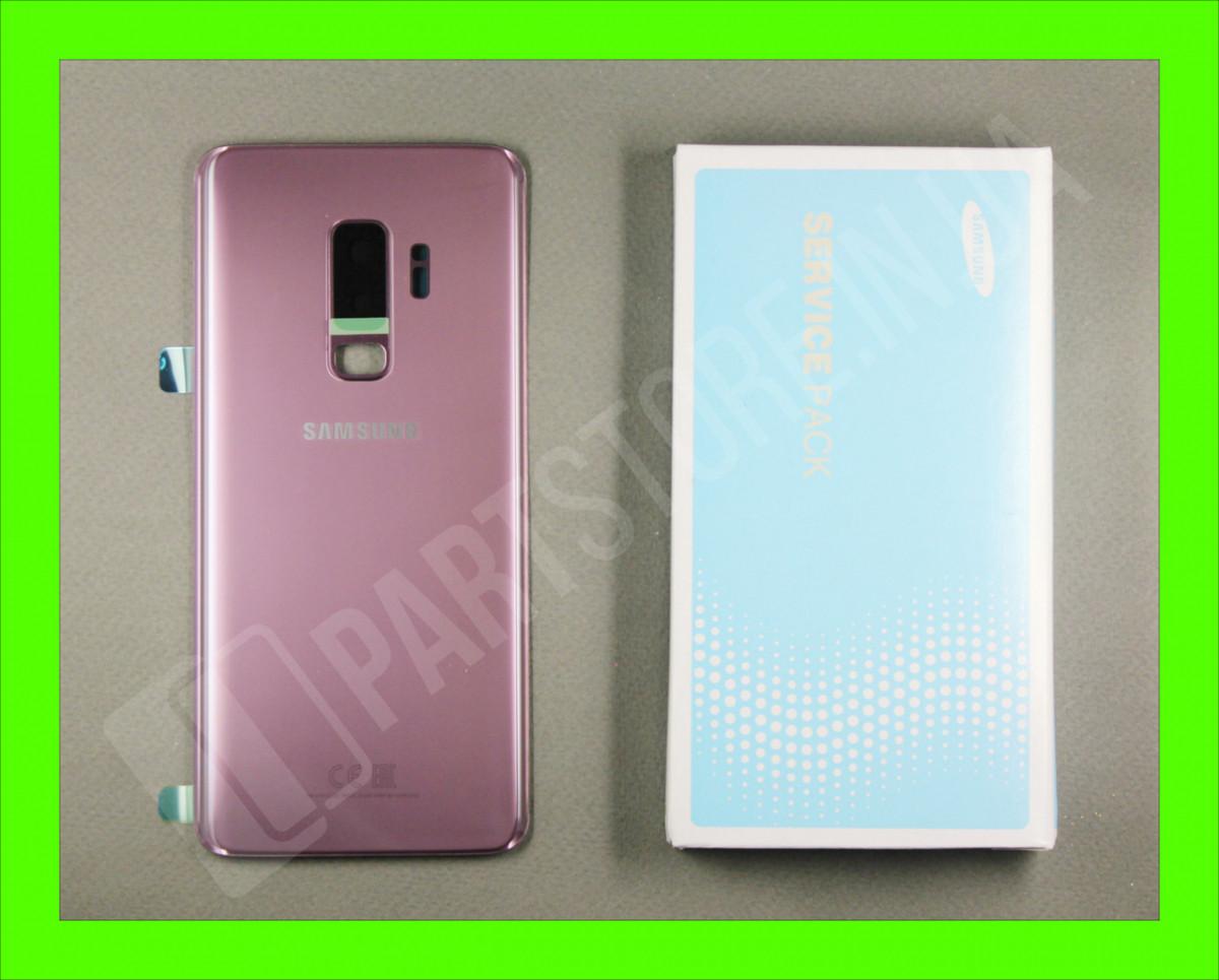 Крышка Samsung G965 Lilac Purple S9 Plus (GH82-15724B) сервисный оригинал
