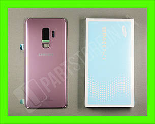 Крышка Samsung G965 Lilac Purple S9 Plus (GH82-15724B) сервисный оригинал, фото 2