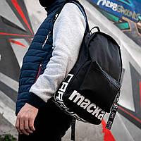 Черный мужской рюкзак MACKA