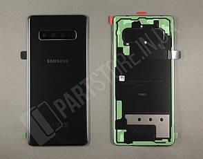 Крышка Samsung G975 Black S10 Plus (GH82-18534A) сервисный оригинал, фото 2