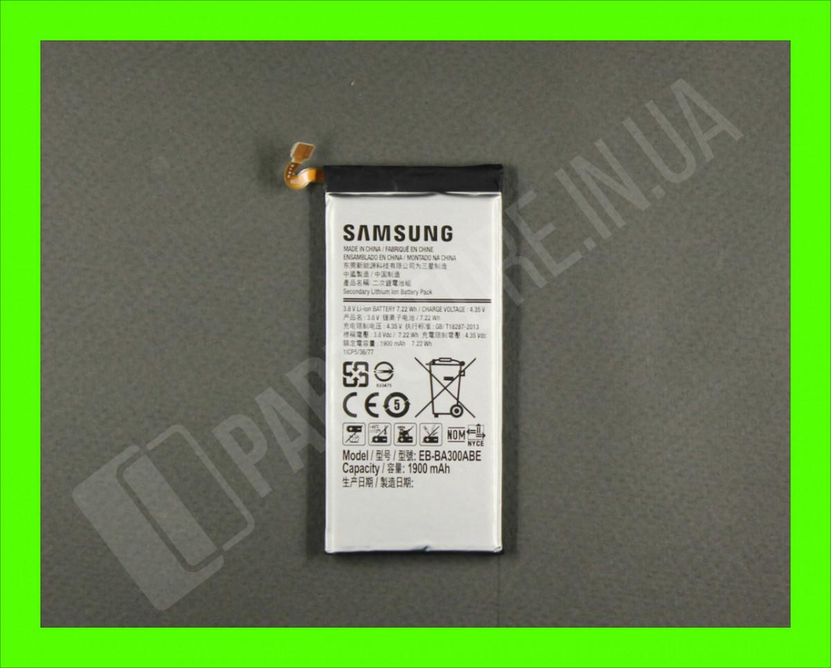 Аккумулятор Samsung A300 A3 2015 (EB-BA300ABE) GH43-04381B сервисный оригинал