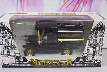 Машина металлическая Tank Truck черная